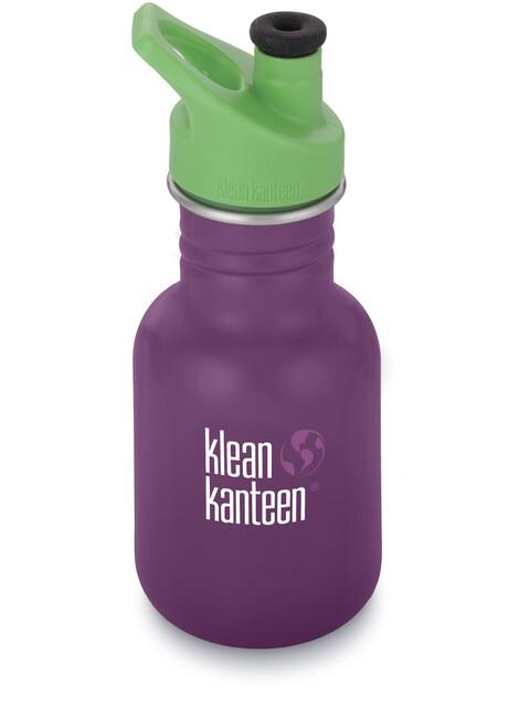Klean Kanteen Kid Classic Bottle Sport Cap 3.0 355ml Winter Plum